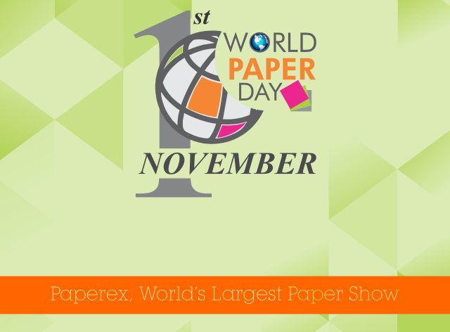 Celebration of first <strong>World Paper Day on Nov. 1, 2017</strong>at Pragati Maidan, New Delhi